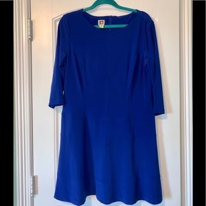Anne Klein blue dress